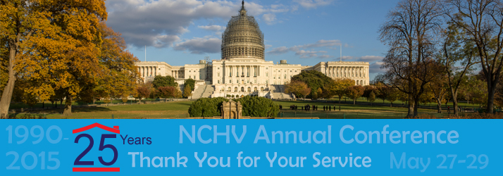 2015 NCHV Annual Conference - 25 Years: Thank You for Your Service